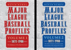 Major League Baseball Profiles, 1871-1900, 2-volume set