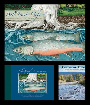 Explore the River Educational Project (2-book, 1-DVD Set)