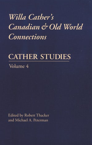 Cather Studies, Volume 4