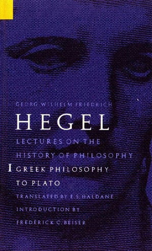 Lectures on the History of Philosophy, Volume 1
