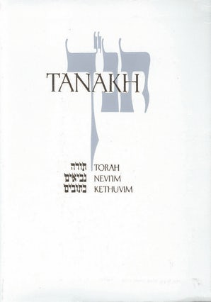 JPS TANAKH: The Holy Scriptures, Presentation Edition (white)