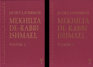 Mekhilta de-Rabbi Ishmael, 2-volume set