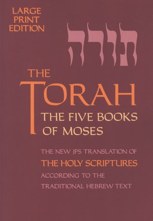 The Torah, Large Print Edition