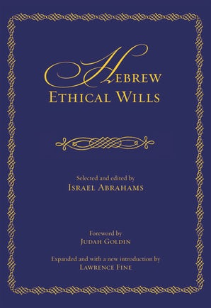 Hebrew Ethical Wills