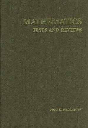 Mathematics Tests and Reviews