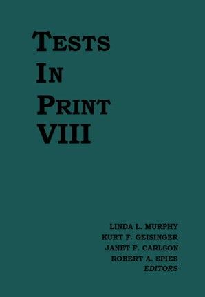 Tests in Print VIII