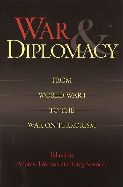 diplomacy is ineffective without the threat of war