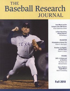 Baseball Research Journal (BRJ), Volume 39 #2