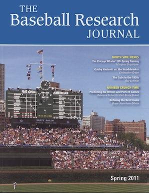 Baseball Research Journal (BRJ), Volume 40 #1