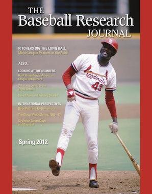 Baseball Research Journal (BRJ), Volume 41 #1