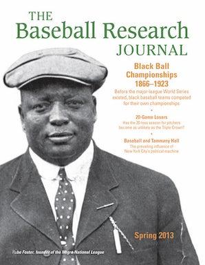 Baseball Research Journal (BRJ), Volume 42 #1