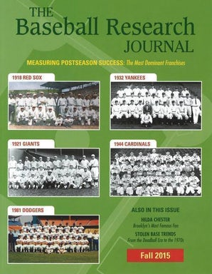 Baseball Research Journal (BRJ), Volume 44 #2