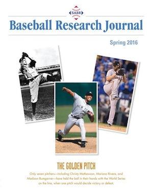 Baseball Research Journal (BRJ), Volume 45 #1