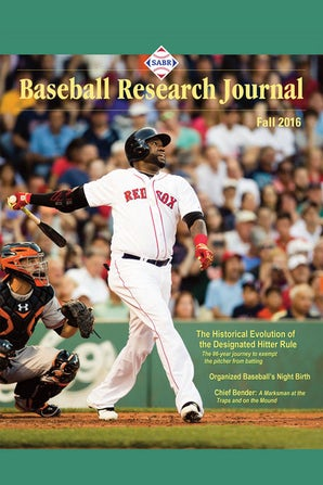 Baseball Research Journal (BRJ), Volume 45 #2