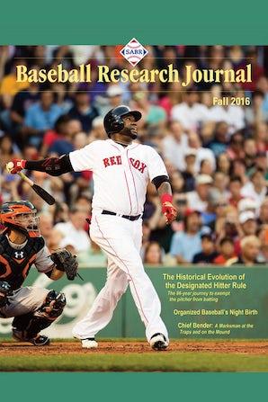 Baseball Research Journal (BRJ), Volume 45 #2